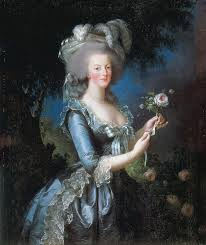 Portrait of Marie Antoinette, 1783.